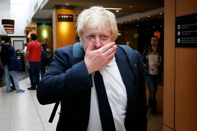 Boris Johnson bought the three water cannon for about £200,000 before they were blocked for use...