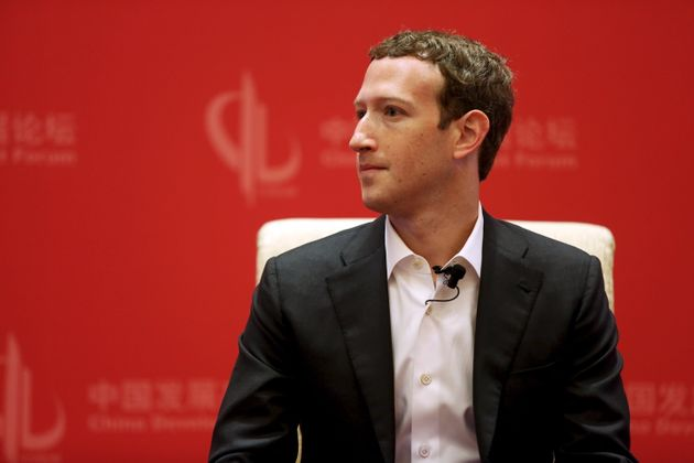 Facebook CEO Mark Zuckerberg in Beijing,