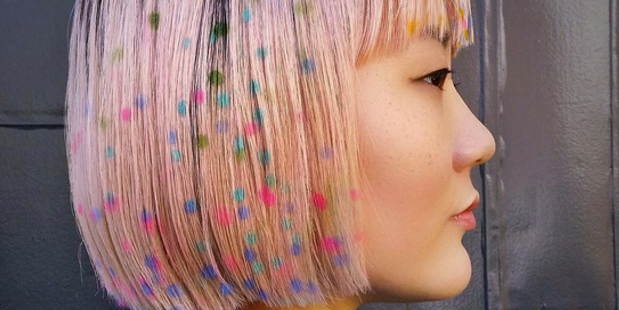 Graffiti Hair Is The Graphic Trend We All Want For Summer  HuffPost UK