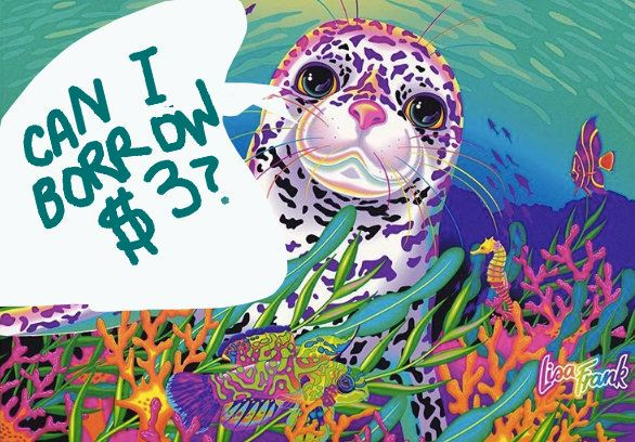 The Lisa Frank Adult Coloring Book Has Arrived -- And It's Only $3  HuffPost