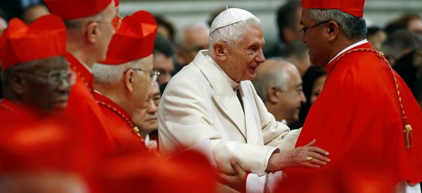 Pope Benedict Claims There Was Once A 'Gay Lobby' At The Vatican