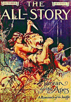"Burrough's original ""Tarzan"" talein ""The All-Story"" (October 1912)"
