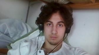 Boston bombing suspect Dzhokhar Tsarnaev is pictured in this file handout photo presented as evidence by the U.S. Attorney's Office in Boston, Massachusetts on March 23, 2015. To match Feature BOSTON BOMBINGS-FILM/     REUTERS/U.S. Attorney's Office in Boston/Handout via Reuters/Files       ATTENTION EDITORS - THIS PICTURE WAS PROVIDED BY A THIRD PARTY. EDITORIAL USE ONLY. NOT FOR SALE FOR MARKETING OR ADVERTISING CAMPAIGNS. THIS PICTURE IS DISTRIBUTED EXACTLY AS RECEIVED BY REUTERS, AS A SERVICE TO CLIENTS.