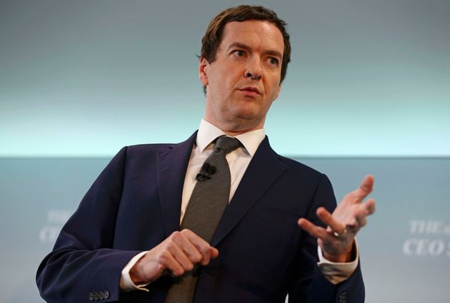 George Osborne's announces that the 2020 budget surplus target will be