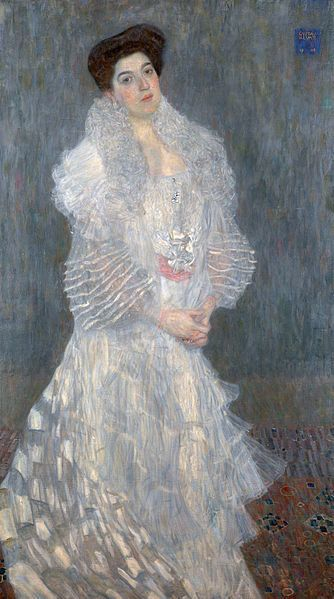 "Gustav Klimt, ""Portrait of Hermine Gallia"" (1904)"