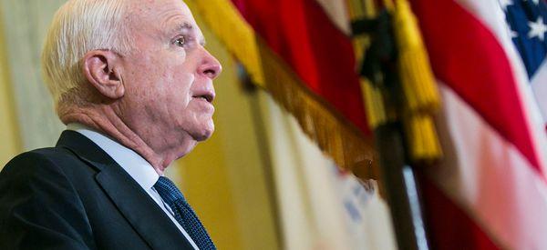 John McCain Blames America For Afghanistan