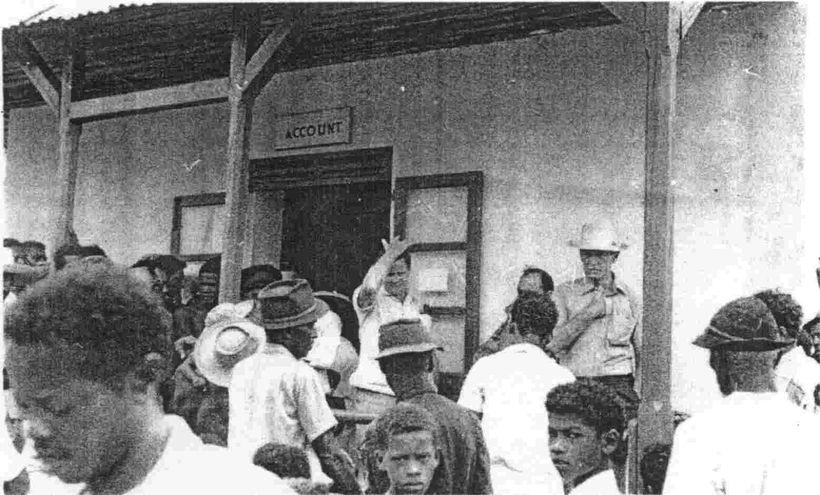 Chagossians hearthey will be deported fromtheir homeland, Diego Garcia, 1971.