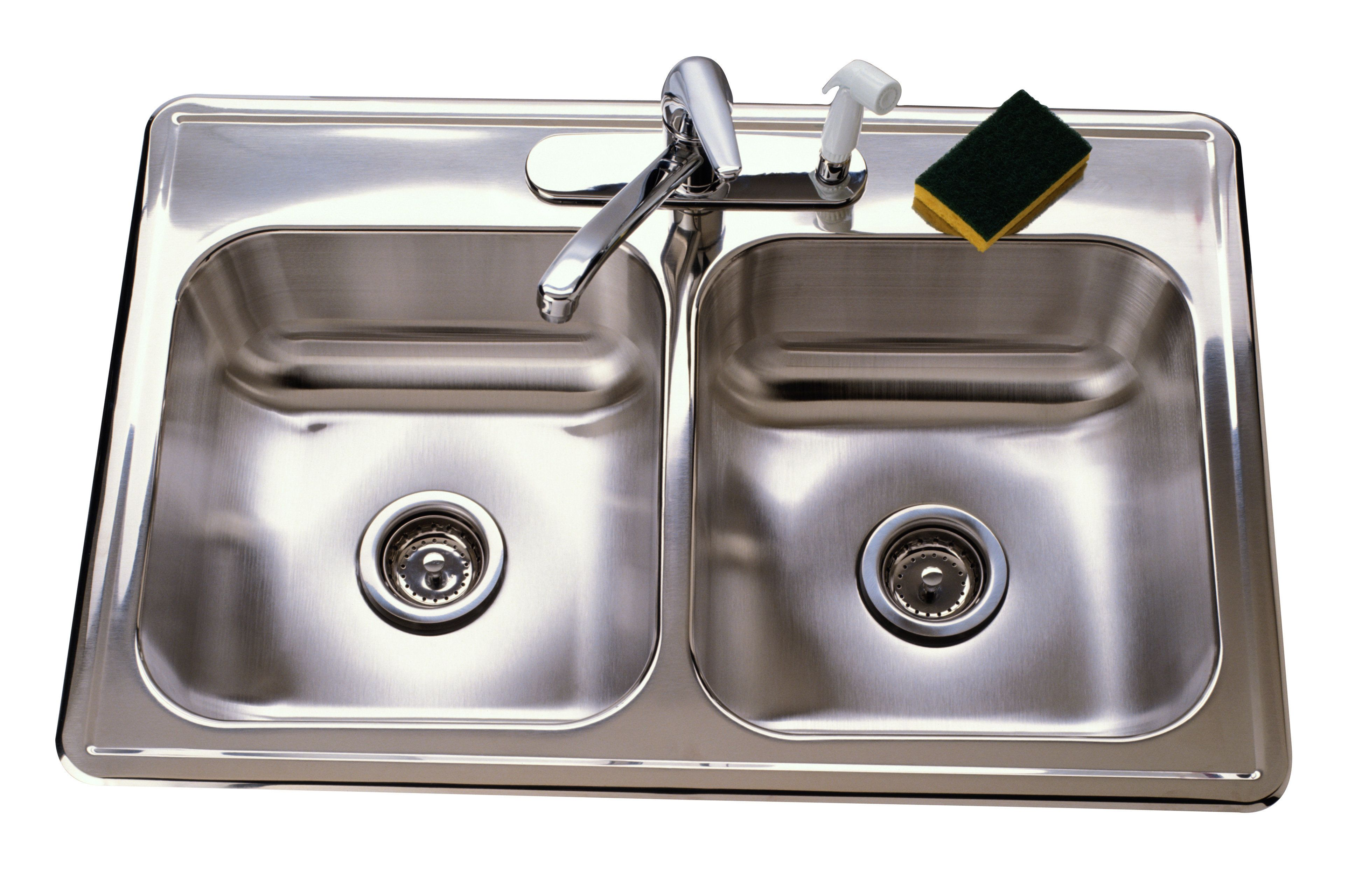 c squared studios|center|color|drain|faucet|green|horizontal|house works|interior|kitchen|lifestyle|metal|object|OS28|silver|sink|sponge|water|wet|white|house|works|VOL334|OS28021.JPG