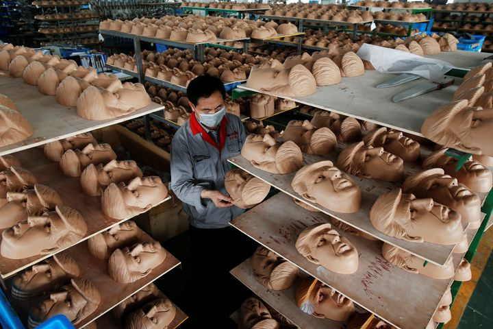 It turns out that Donald Trump masks are a Chinese export.