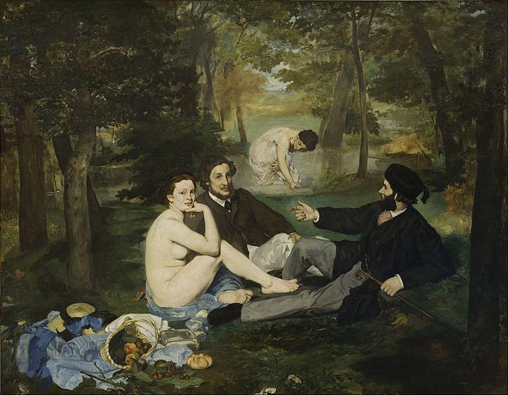 """Edouard Manet, """"Le déjeuner sur l'herbe,"""" 1862–1863"""