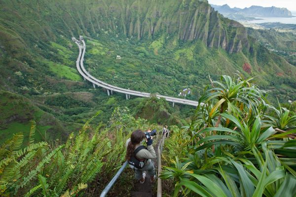 """Despite it's status as one of <a href=""""http://www.huffingtonpost.com/entry/stairway-to-heaven-swing-hawaii_us_5750a0d8e4b0c37"""