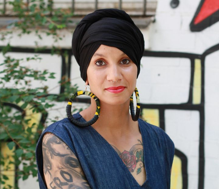"This is Leila, a Muslim from Berlin. Habib writes, ""I first met Leila at an arts festival in Berlin for and by queer people o"