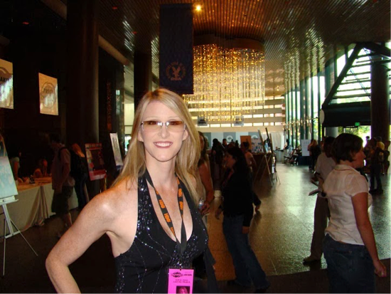 "Andrea James, ""Casting Pearls"" premiere 2007."