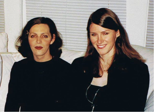 Calpernia Addams and Andrea James, Chicago 1999.