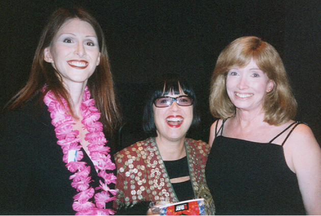 Andrea James, Eve Ensler, Lynn Conway,