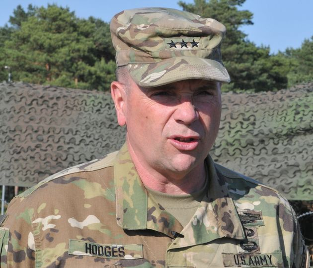 Lt. Gen. Ben Hodges, who commands all U.S. Army forces in Europe, has seen American troop strength in...