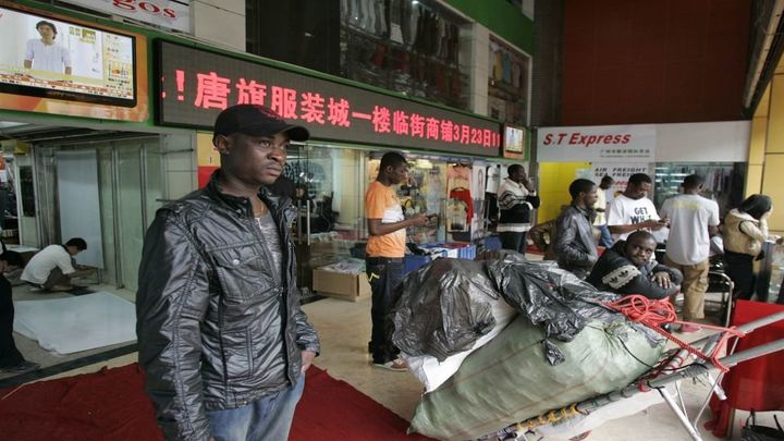 African traders in Guangzhou.