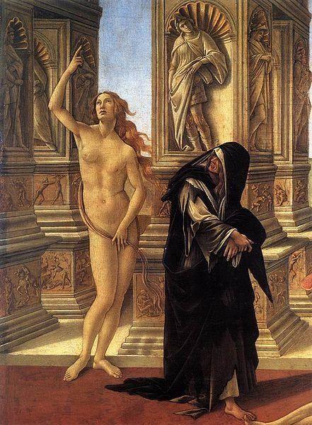 "Sandro Botticelli, ""Calumny of Apelles,"" 1495"