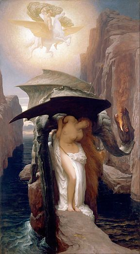 """Frederic Leighton, """"Perseus and Andromeda,"""" 1891"""
