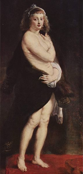 "Peter Paul Rubens, ""Porträt der Hélène Fourment,"" 1638"