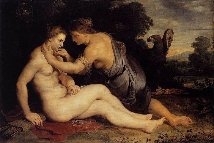 """Peter Paul Rubens, """"Jupiter and Callisto,"""" 1613"""