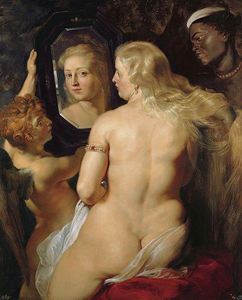 """Peter Paul Rubens, """"Het toilet van Venus,"""" 1613"""