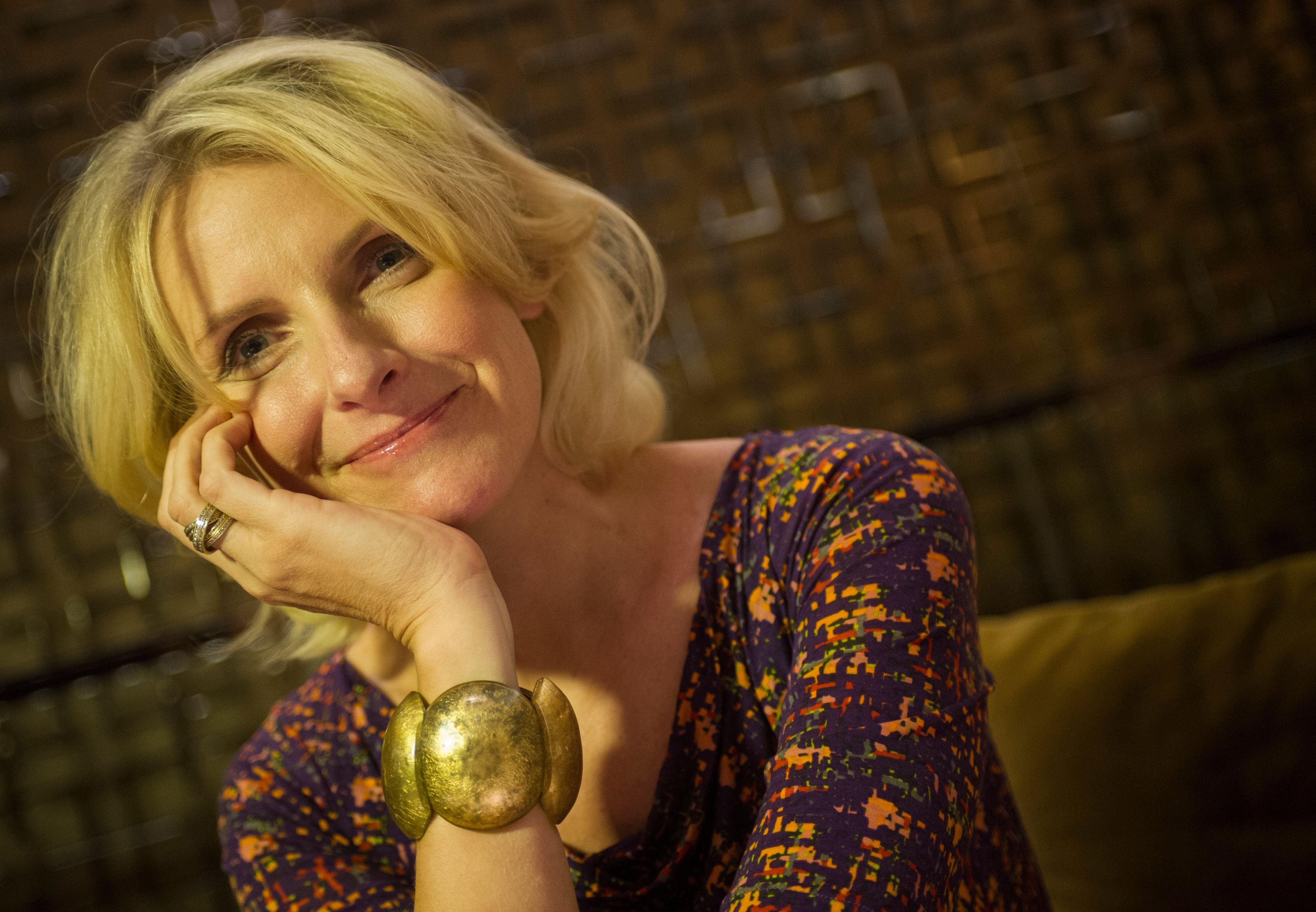TORONTO, ON -  August 15: Author Elizabeth Gilbert speaks about life after Eat, Pray, Love, the book which brought her fame and fortune. Gilbert was in Toronto,  August 15, 2013.        (Rick Madonik/Toronto Star via Getty Images)