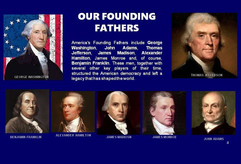 We express our gratitude to the founding fathers for They not only had the vision that was good for them, but it has bee