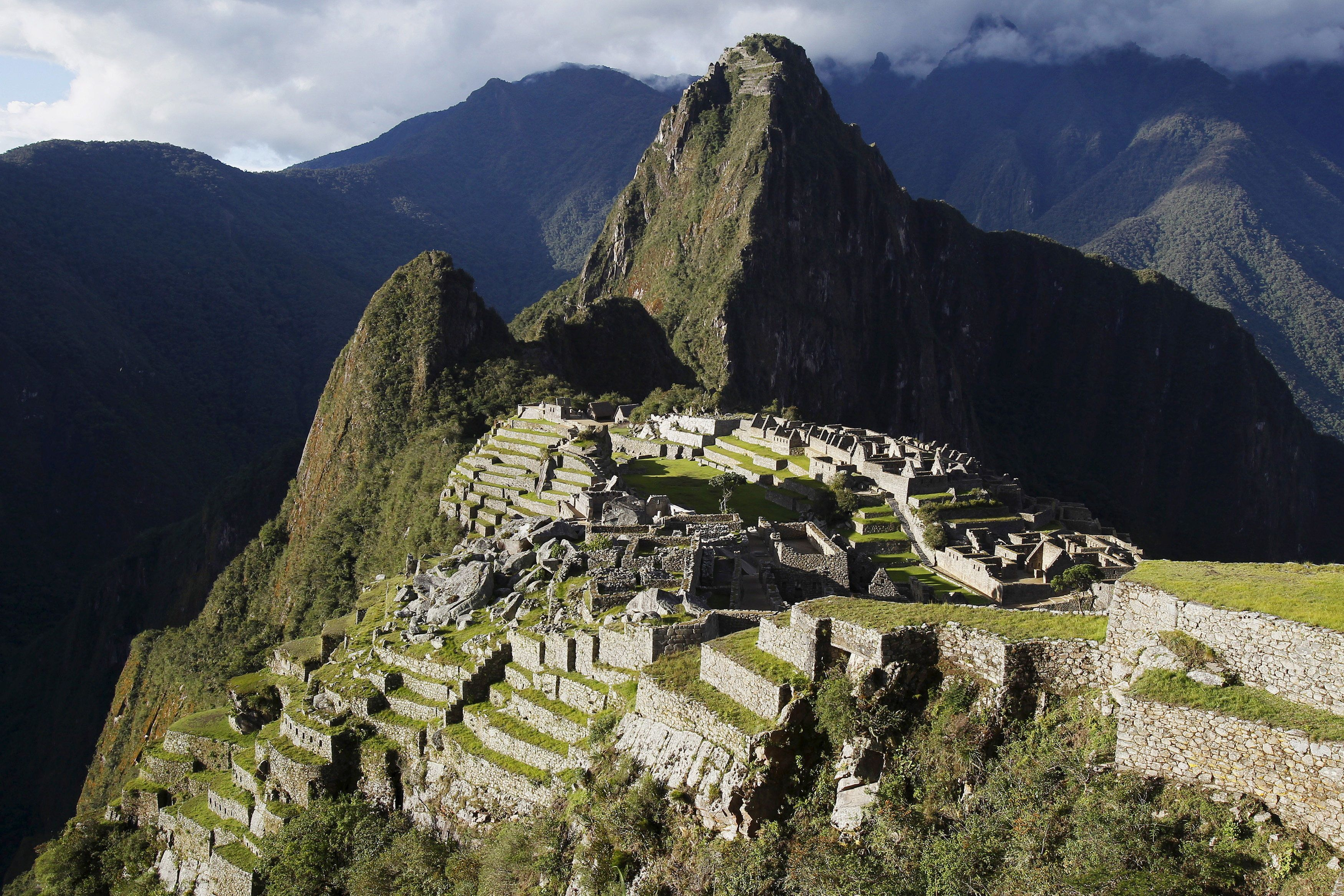 A general view of the Inca citadel of Machu Picchu is seen in Cusco, Peru, in this December 2, 2014 file photo. REUTERS/Enrique Castro-Mendivil/Files