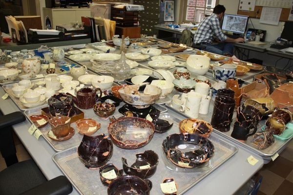 Archaeologists reported finding 82,000 artifacts during their dig which started in 2014.