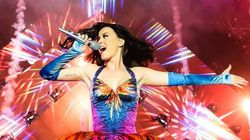 Katy Perry Celebrates Breaking Twitter Record With Night Home