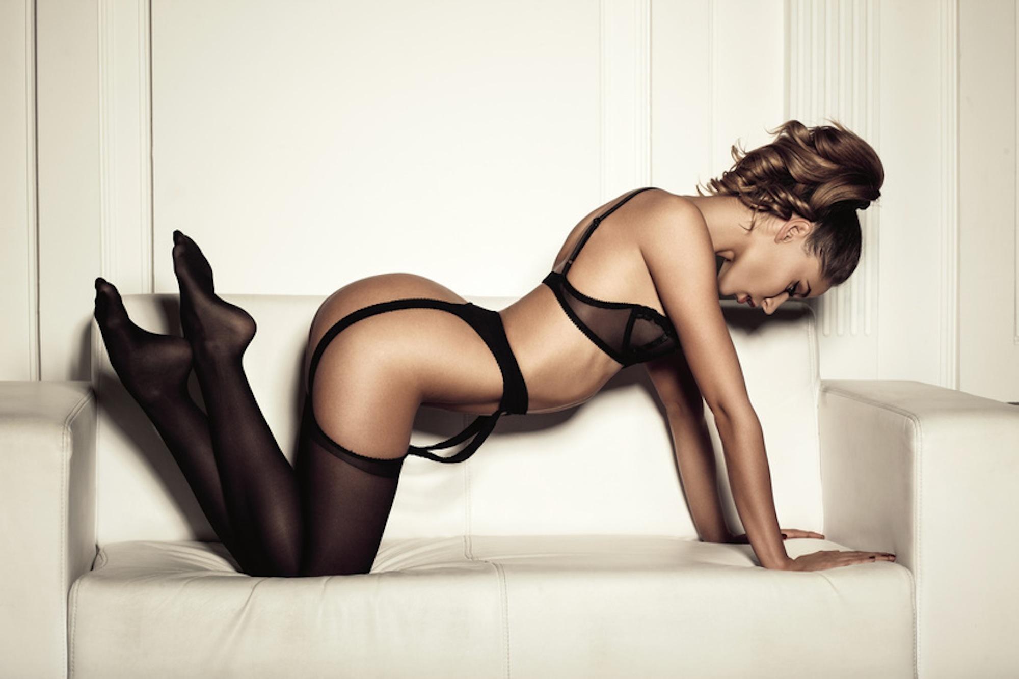 Victoria rae black stockings
