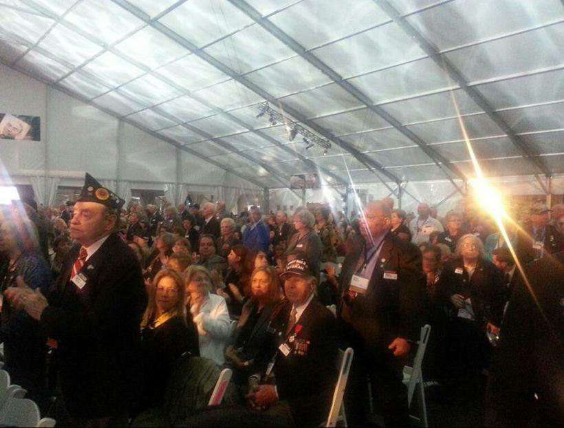 WWII veterans atthe USHMM 20th Anniversary Tribute