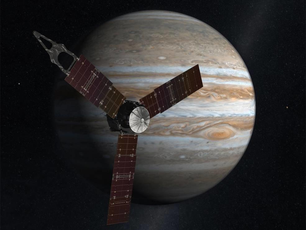 NASA's solar-powered Juno spacecraft reachedJupiter on July 4,