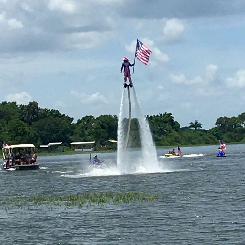 <i>Lake Placid, Central Florida, July 4th Holiday Weekend, 2016</i>