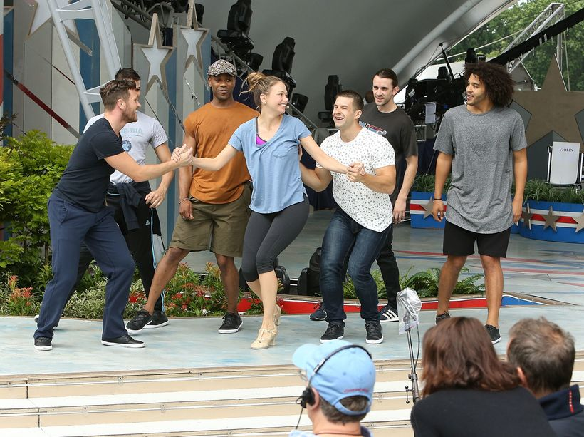 Tony Award winner and television star Sutton Foster performs during A Capitol Fourth - Rehearsals at U.S. Capitol, West Lawn,