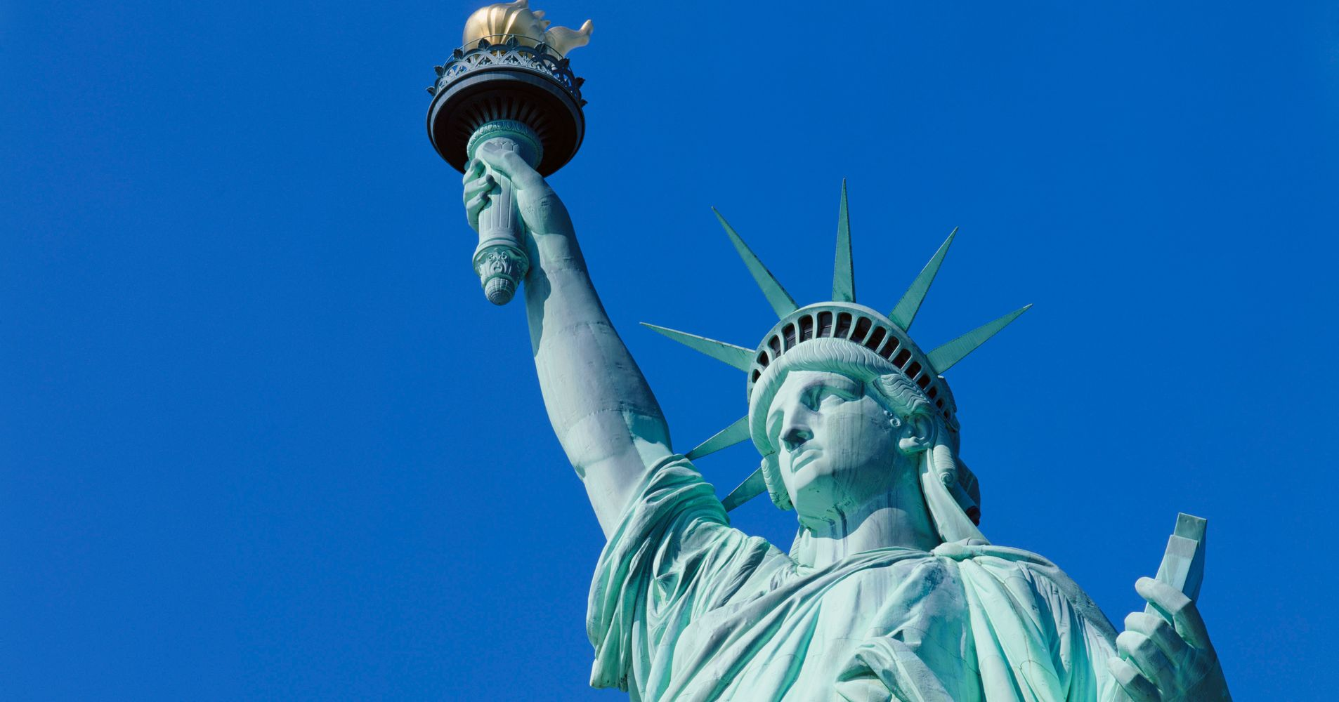 is the statue of liberty a man huffpost