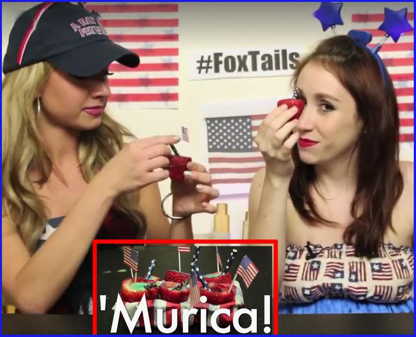 <strong><i>Adult Strawberry 'Merica Shot Treats<br></i></strong>