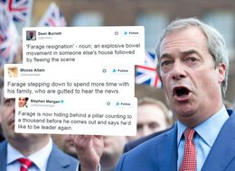 All The Funniest Twitter Reaction To Nigel Farage Quitting Again