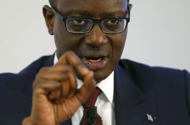 CEO Tidjane Thiam of Swiss bank Credit