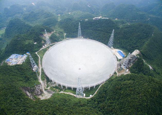 China Puts The Finishing Touches On The World's Largest Radio