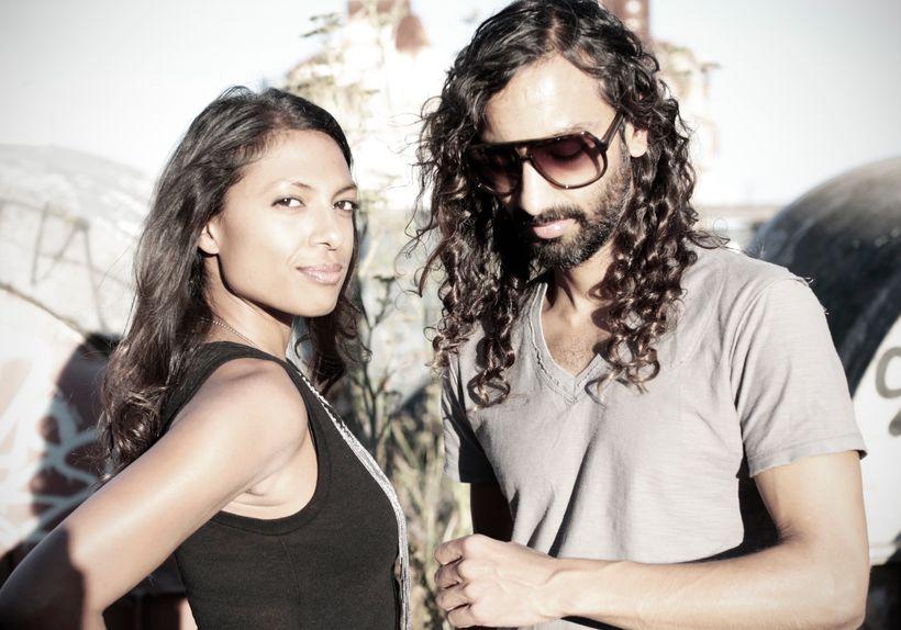 <i>Wife and Husband team: Prerna Gupta and Parag Chordia</i>