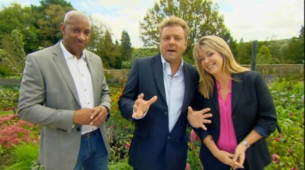 Dion Dublin, Martin Roberts and Lucy