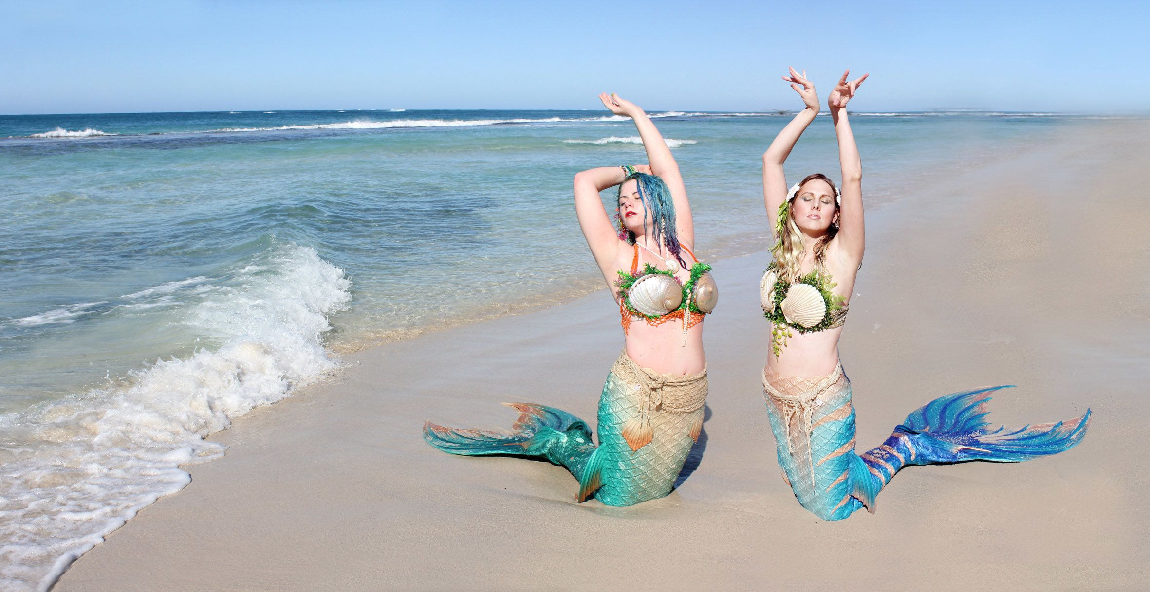 Disney-Obsessed Friends Become 'Real Life Mermaids' With Tails Worth