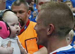 The Chubby Cheeked Euro 2016 Fan Who Has Stolen Everyone's Hearts