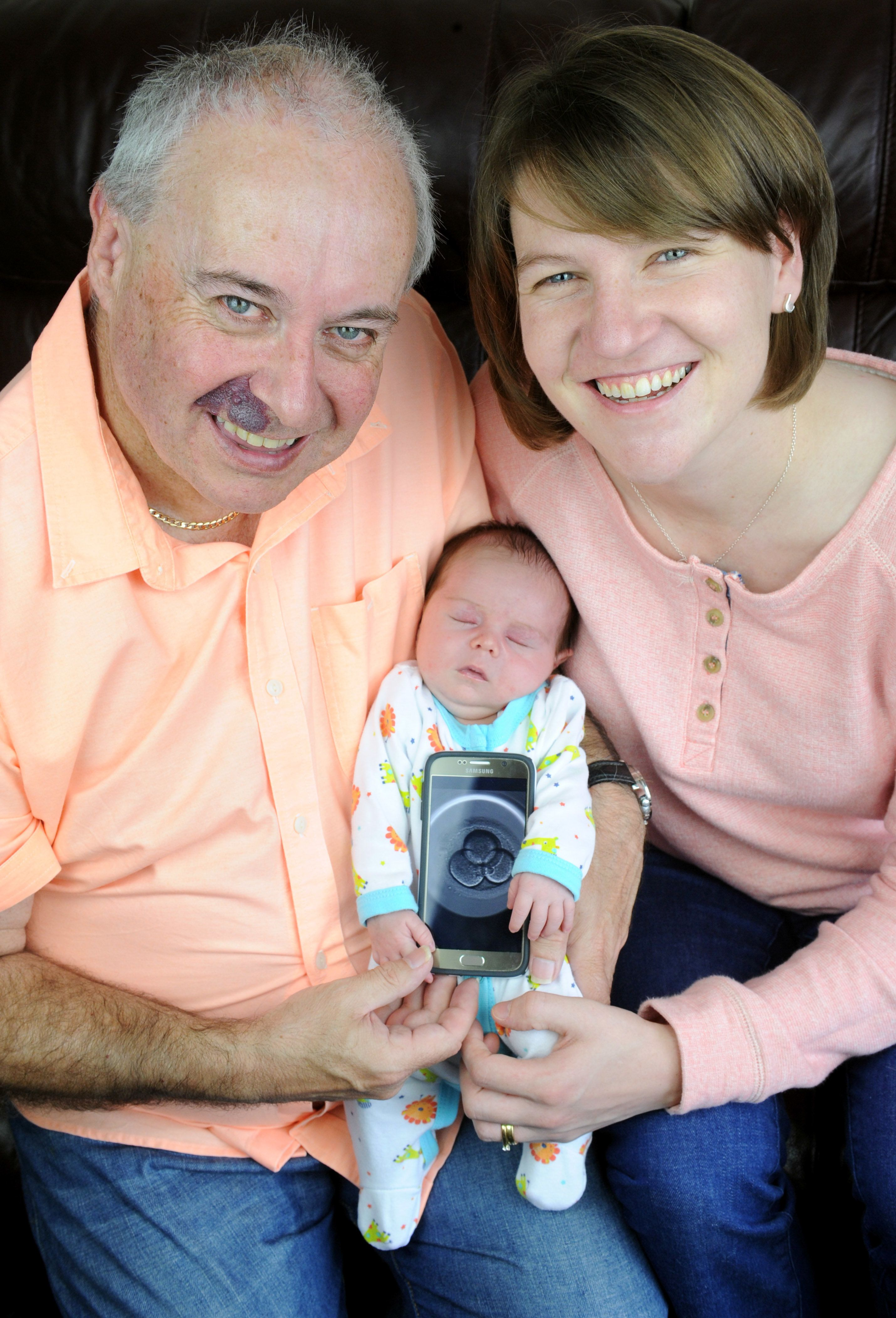 Couple With 26-Year Age Gap Celebrate Birth Of 'Miracle' Baby After Three Rounds Of