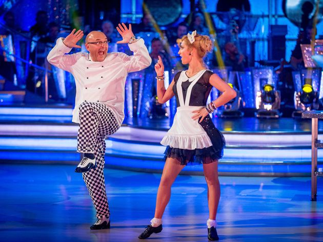 Gregg was paired up with Aliona on the 2014 series of
