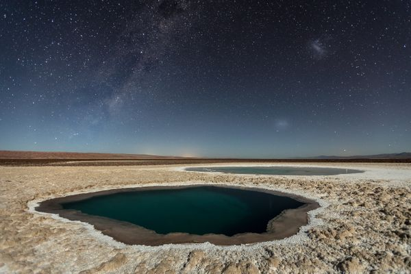 "<strong>Lagunas Baltinache (Atacama Desert).</strong> Photo and caption by Victor Lima/<a href=""http://travel.nationalgeograp"