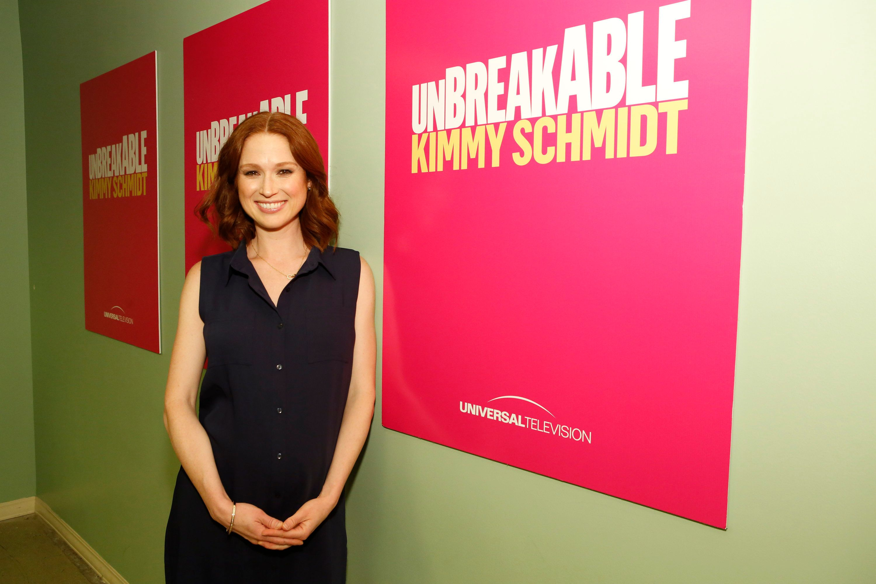 UNBREAKABLE KIMMY SCHMIDT -- FYC @ UCB Event at Upright Citizens Brigade Theatre Sunset, Los Angeles, June 6, 2016 -- Pictured: Ellie Kemper -- (Photo by: Trae Patton/Universal Television/NBCU Photo Bank via Getty Images)