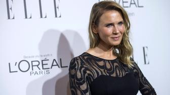 Actress Renee Zellweger poses at the 21st annual ELLE Women in Hollywood Awards in Los Angeles, California October 20, 2014.  REUTERS/Mario Anzuoni  (UNITED STATES - Tags: ENTERTAINMENT)